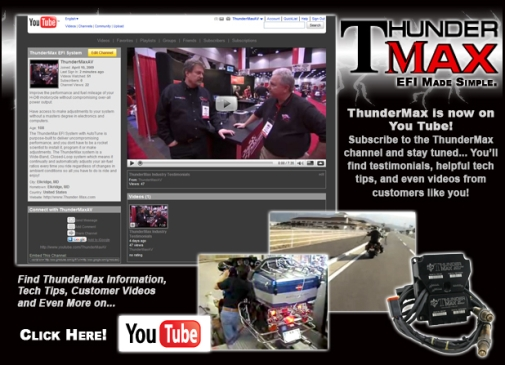 www.YouTube.com/ThunderMax EFI